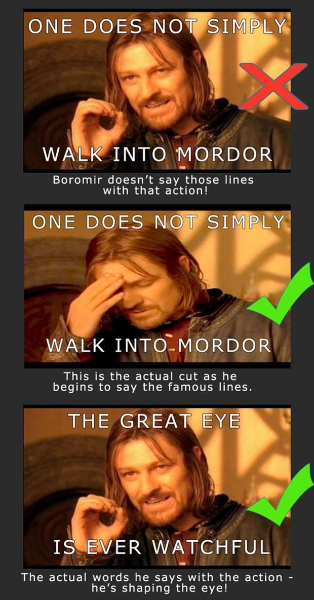 boromir meme one does not simply