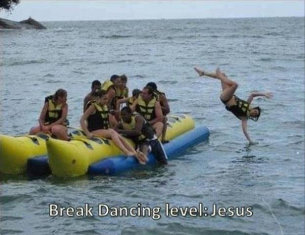 break dancing level jesus