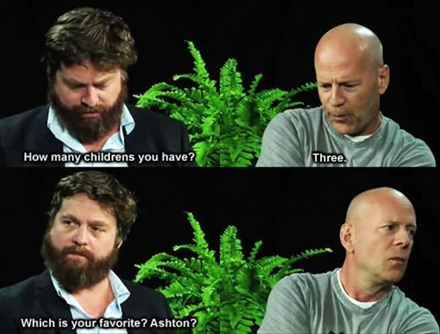 bruce willis funny