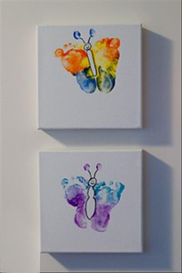 colorful butterflies craft ideas