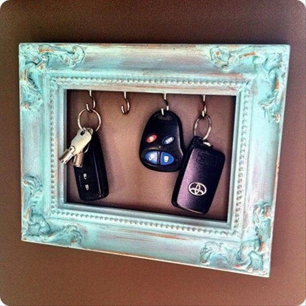 craft ideas key holder