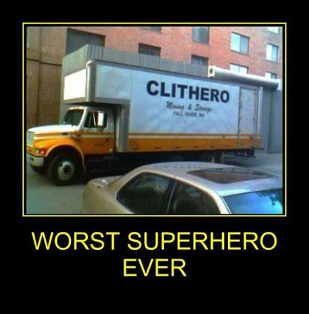 demotivational posters superhero