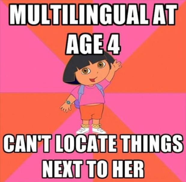 Dora The Explorer Funny Meme Dump A Day