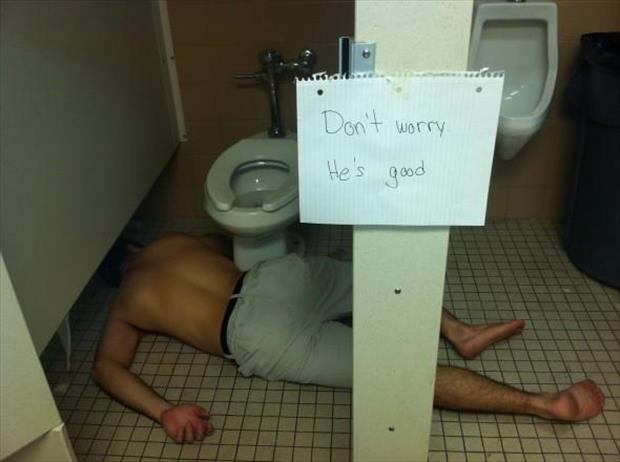 drunk and passed out funny pictures