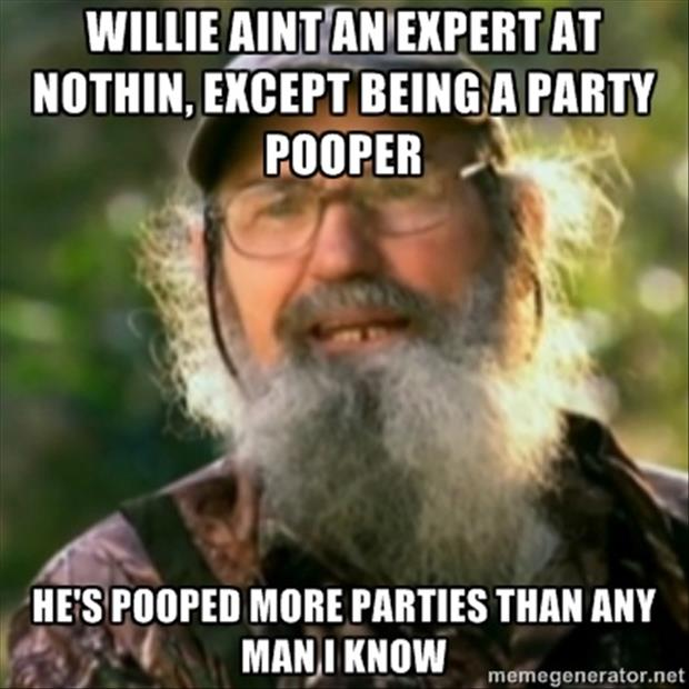 duck dynesty quotes party poopers