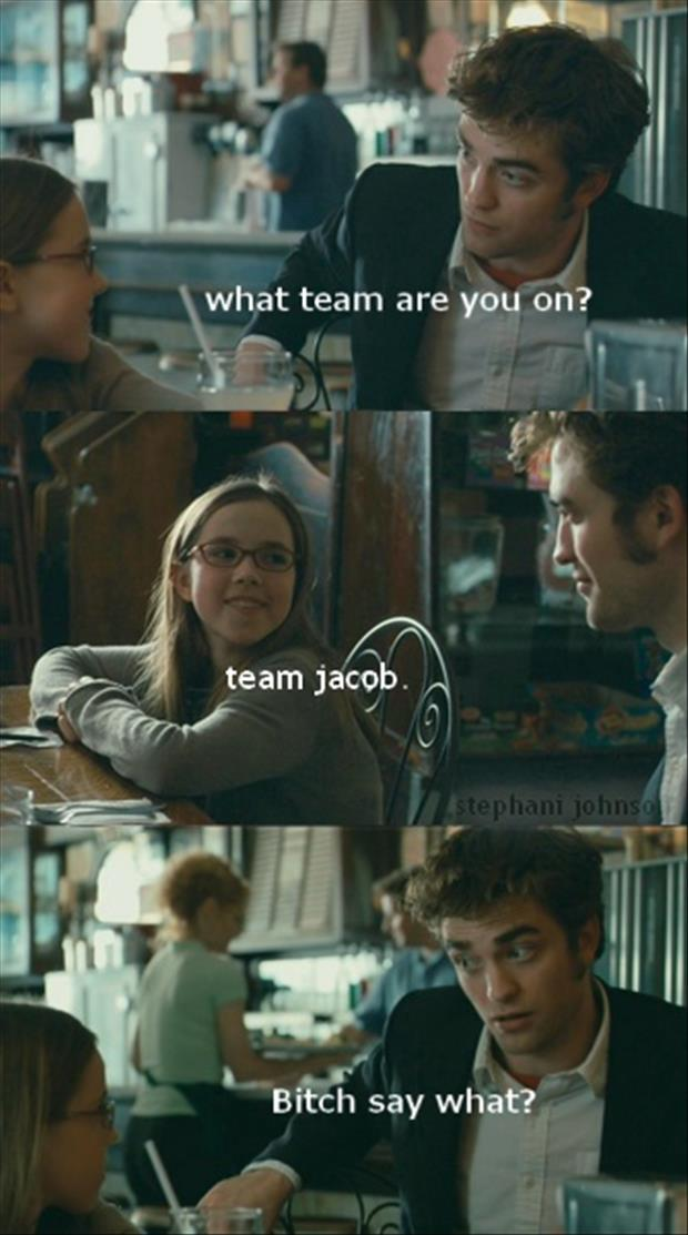 edward cullen, team jacob
