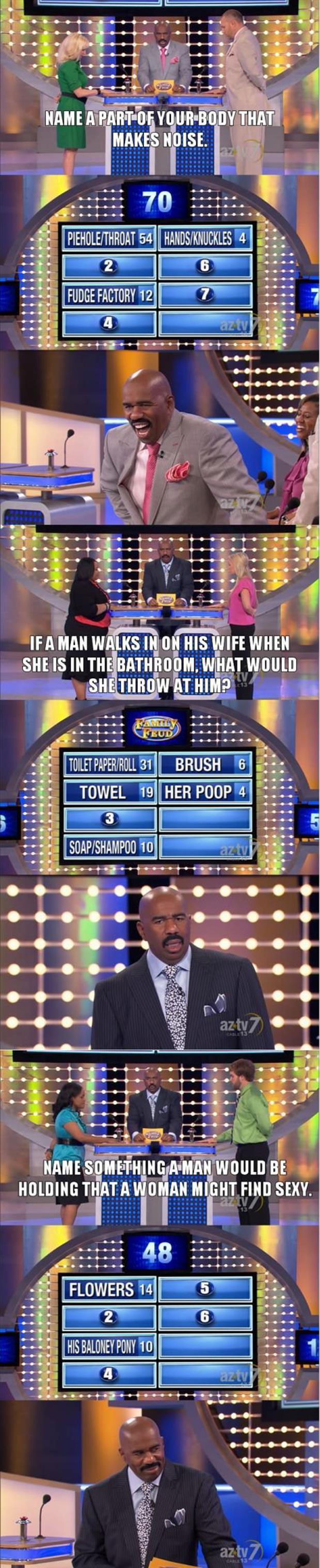 family fued answers funny pictures