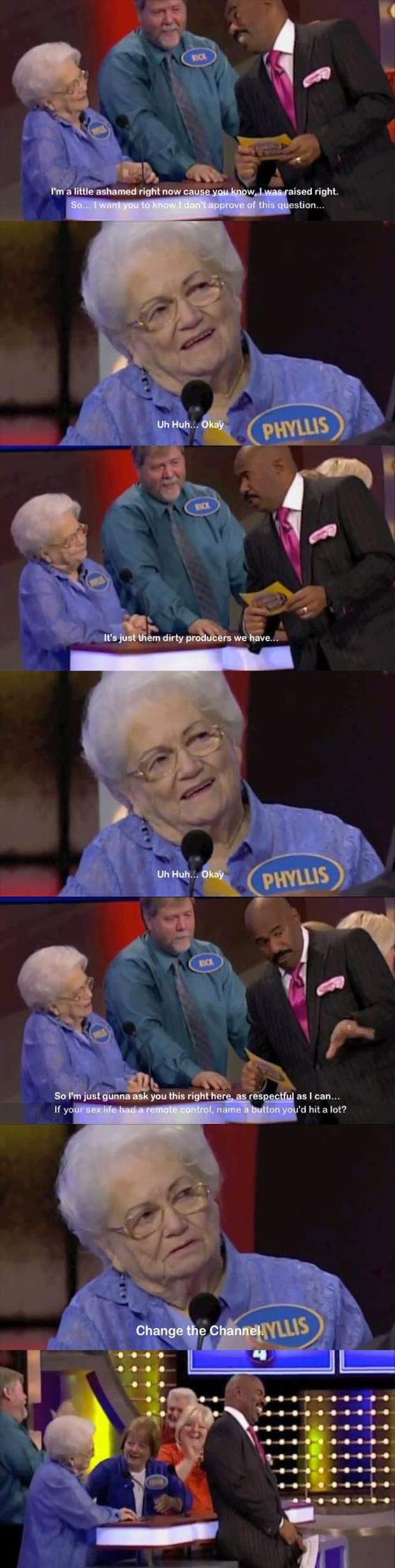 family fued questions funny
