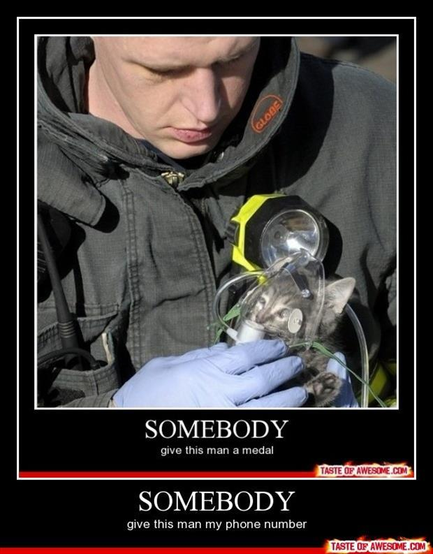 fireman demotivational posters