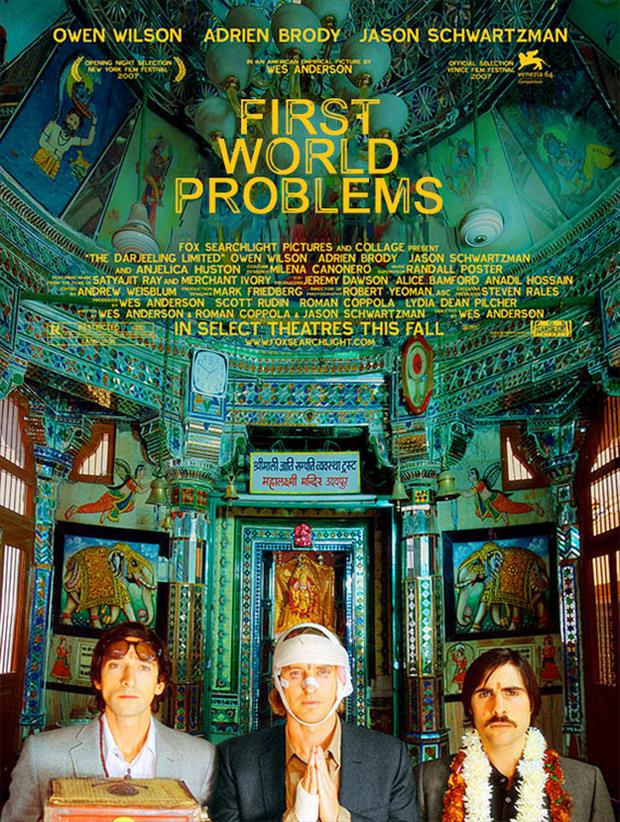 first world problems funny movie posters