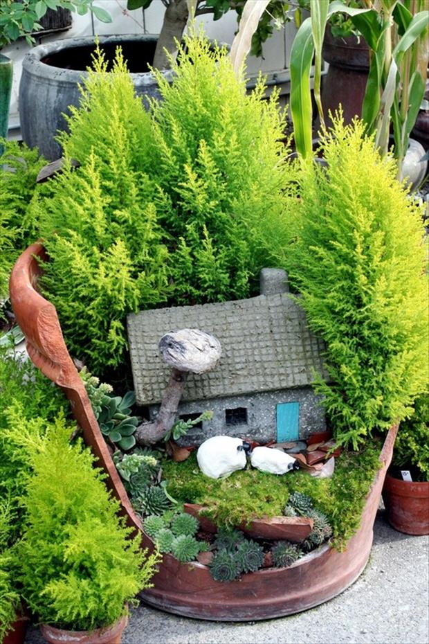fun garden ideas - Dump A Day