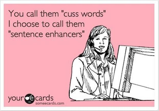 funny cuss words