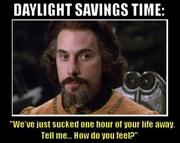 funny daylight savings time