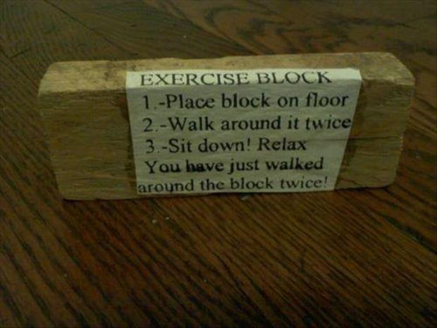 funny exercise routines