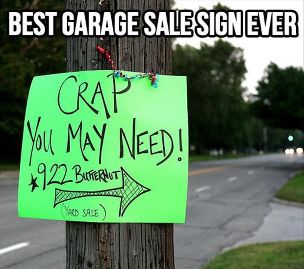 Funny Garage Signs : Car sales funny quotes quotesgram