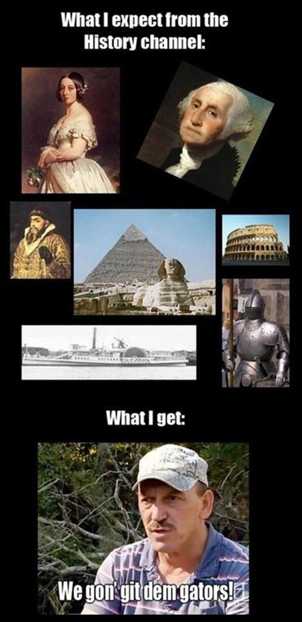 funny history channel pictures
