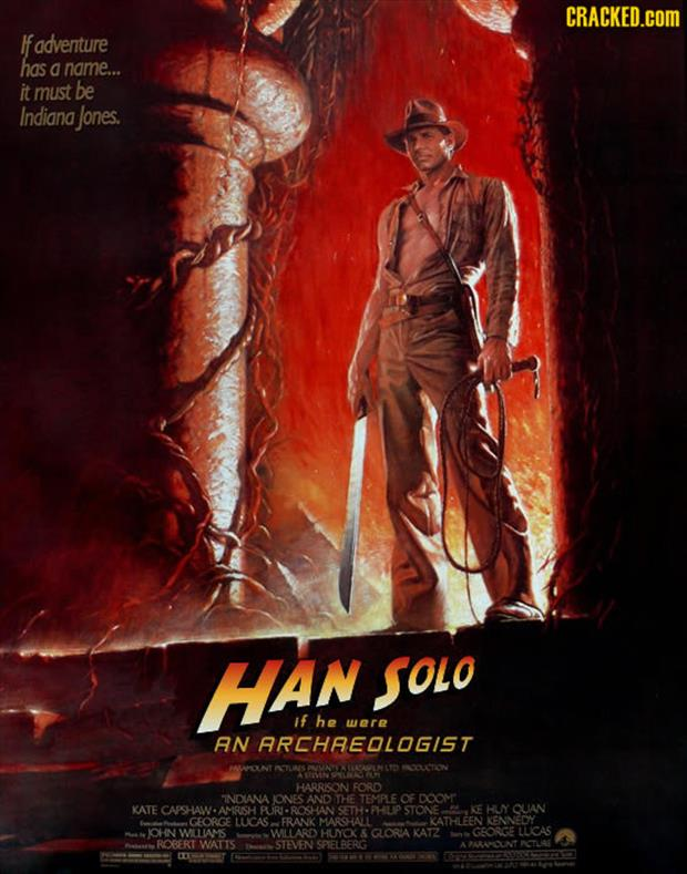 funny indiana jones movie posters