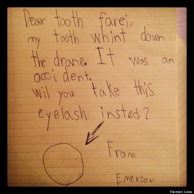 funny notes from kids