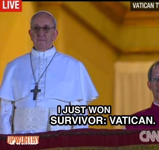 funny pope pictures