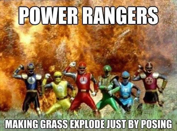 funny power rangers