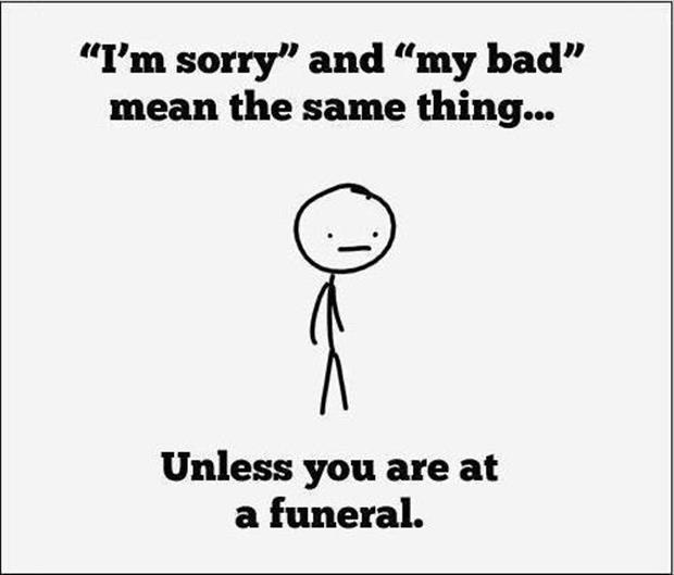 funny quotes funeral