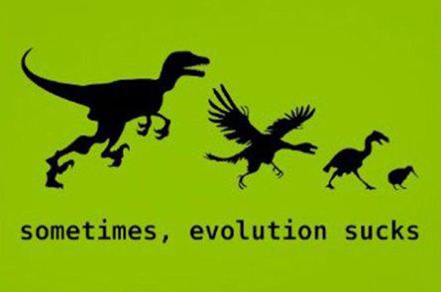 funny  t-rex evolution