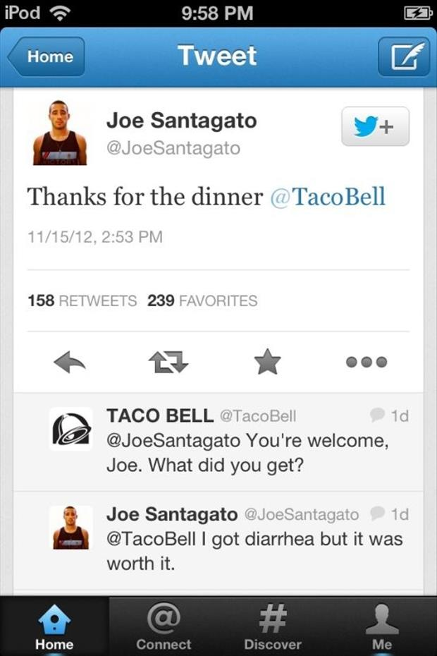 funny taco bell twitter quotes