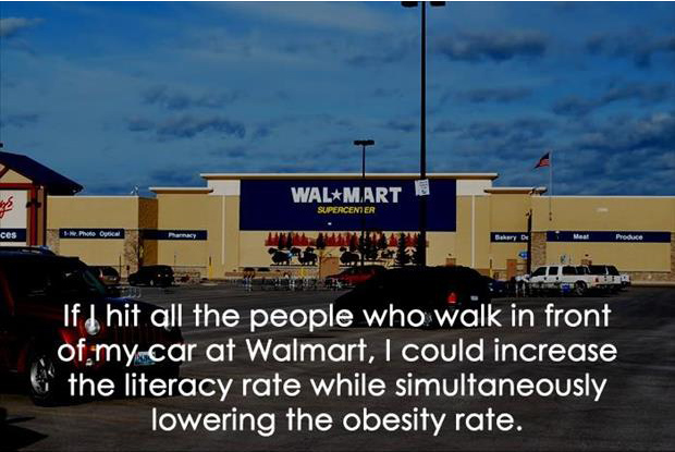 funny wal mart quotes