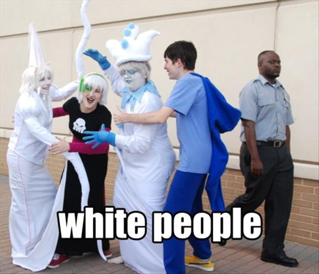 funny white people