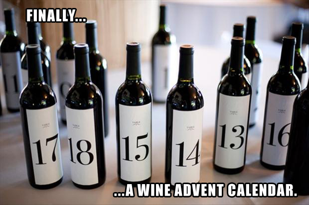 funny wine Advent Calendar