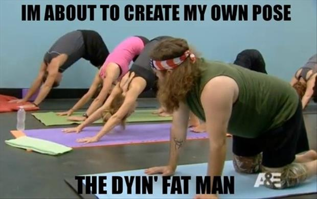 funny yoga pictures