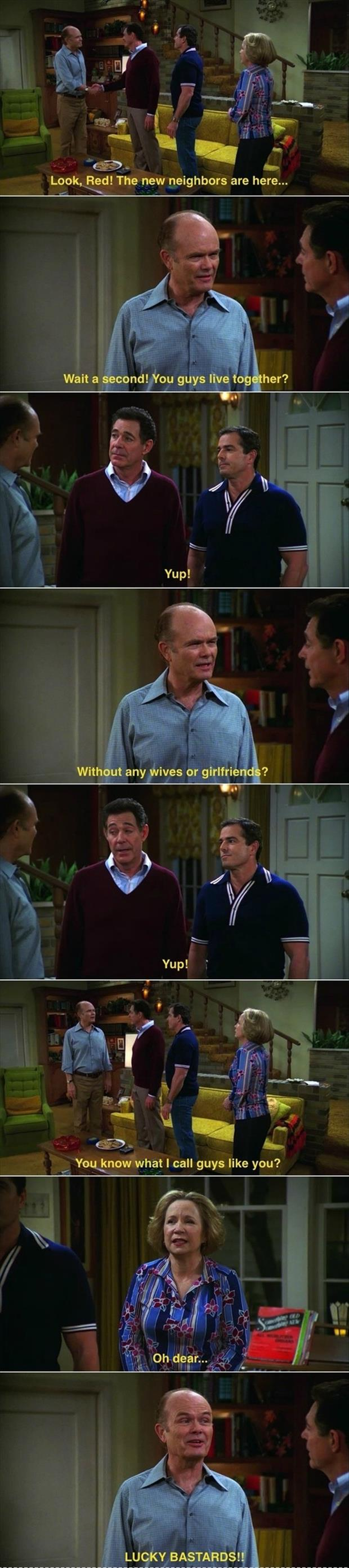 gay jokes on that 70's show