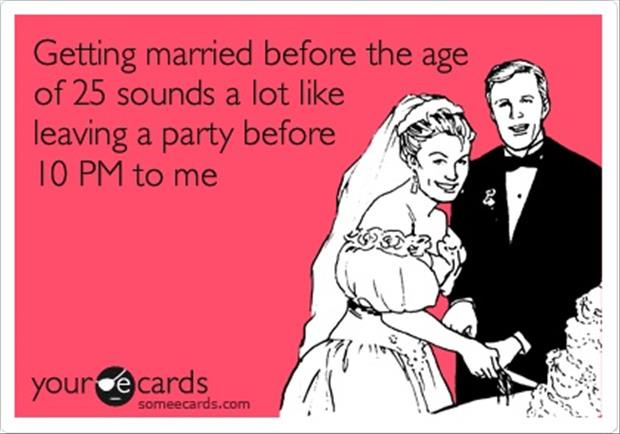 getting married early