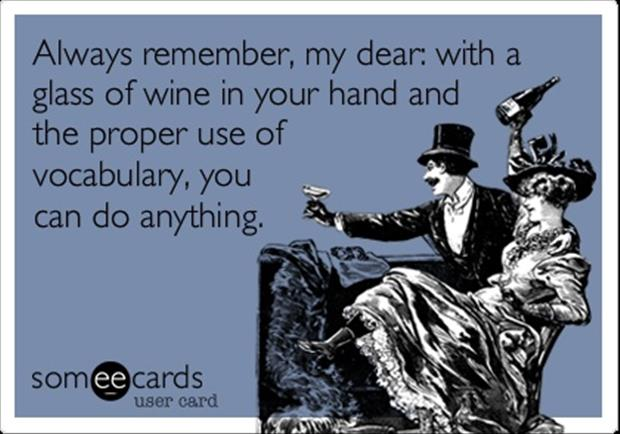 glass of wine funny quotes