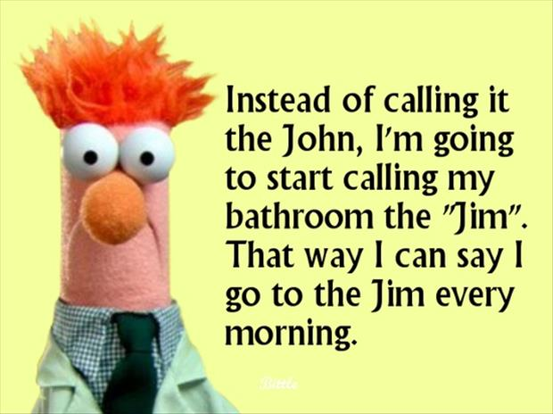 Going to the gym every morning dump a day - Beaker muppets quotes ...