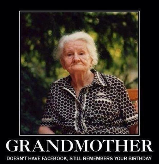 grandma vs facebook demotivational posters