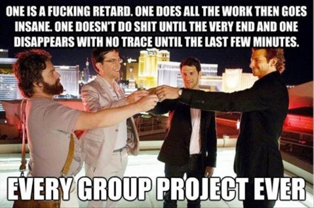 group projects funny pictures