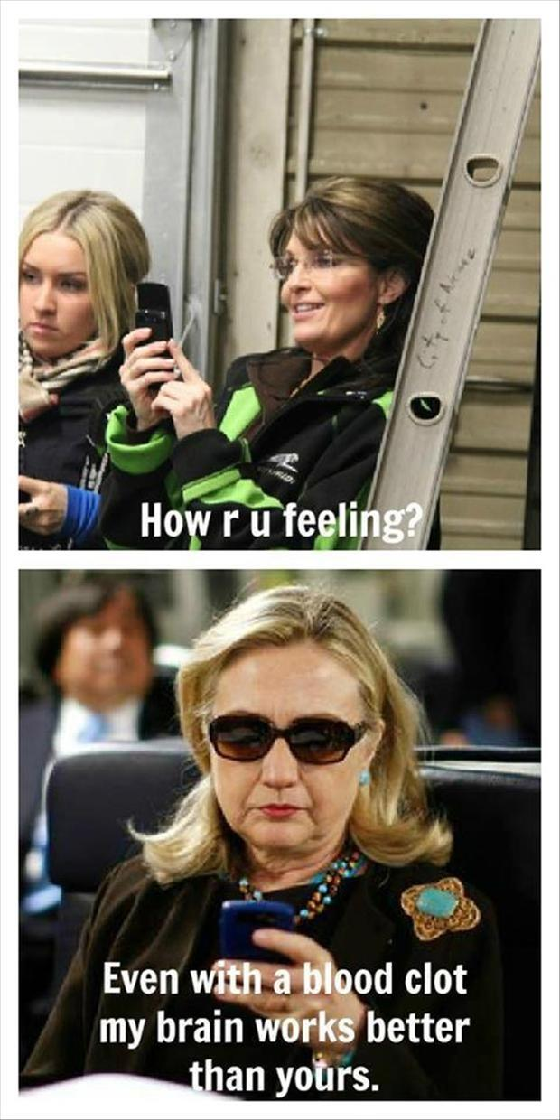 hillary clinton funny pictures