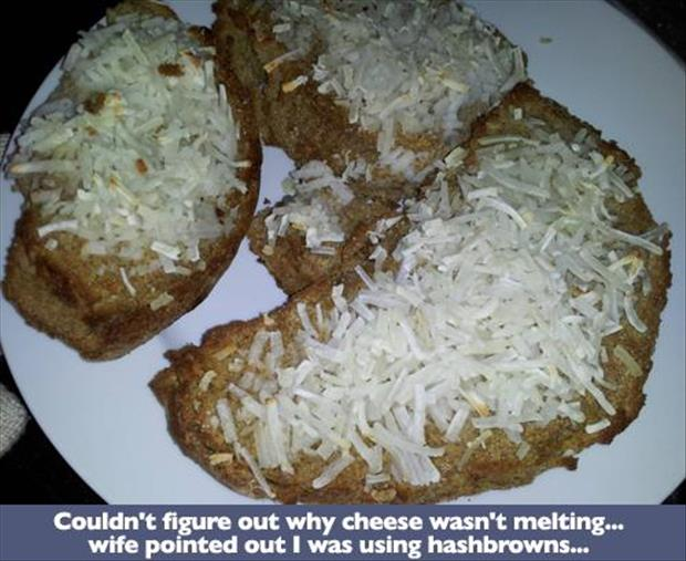 how not to melt cheese
