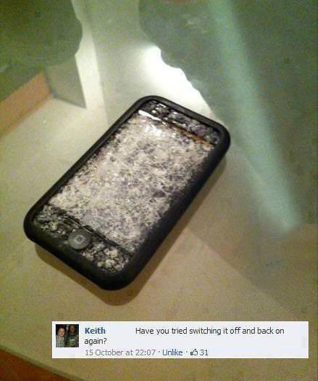 how to fix an iphone