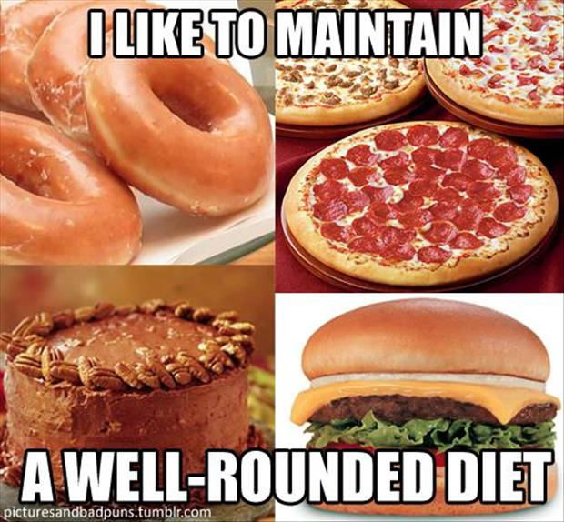 how to maintain a well rounded diet