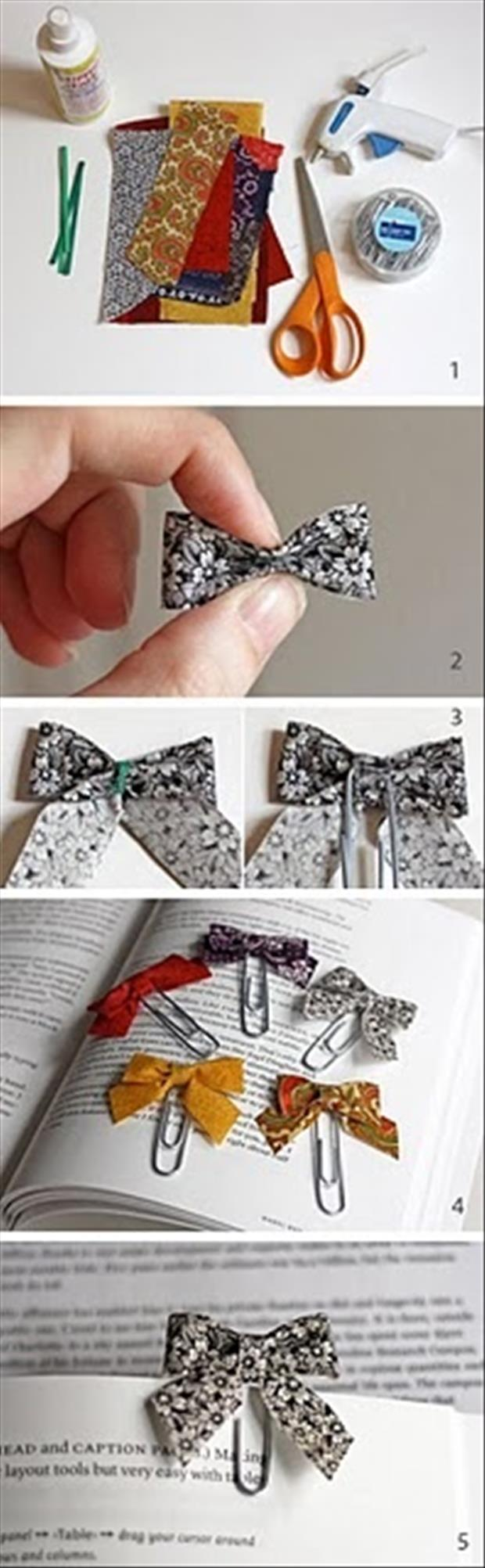 how to make a book mark