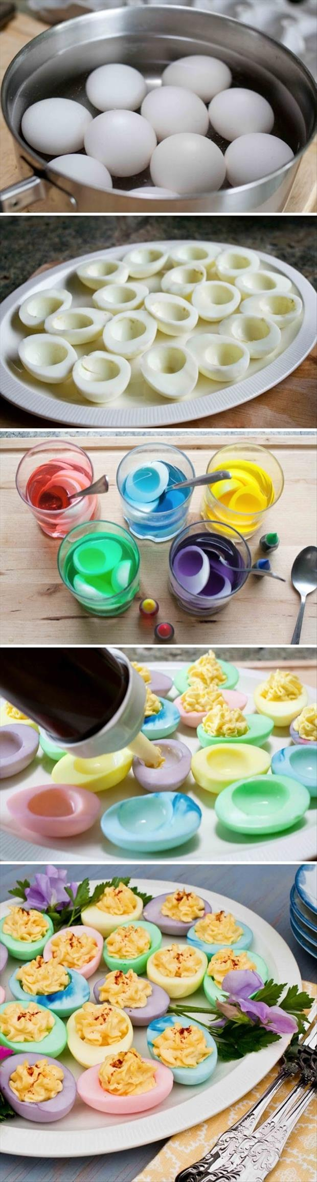 how to make easter deviled eggs