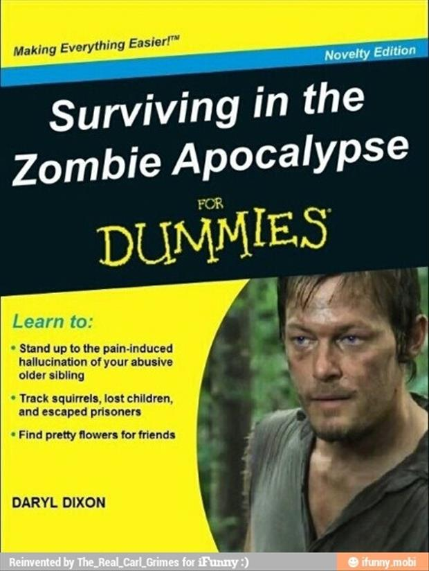 how to survive the zombie apocalypse funny books