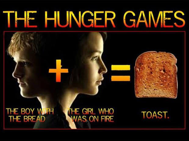hunger games funny images toast