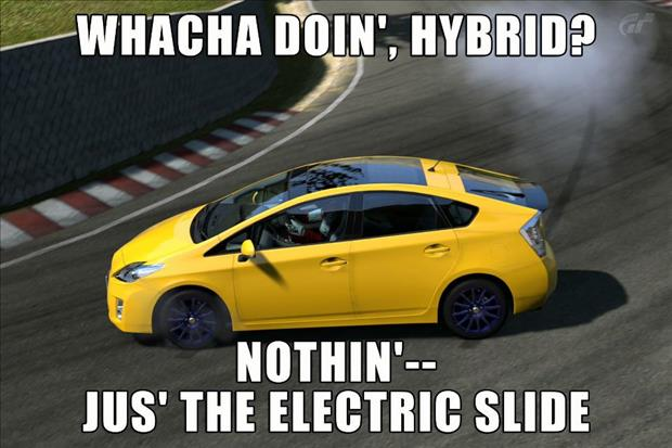 hybrid car funny pictures