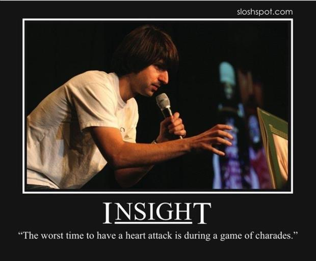 insight demotivational posters, heart attack