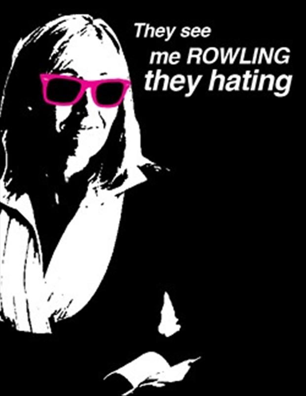 jk rowling funny pictures