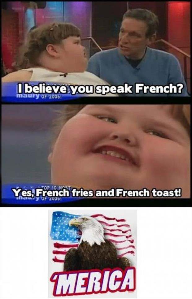 kid speaks french funny pictures