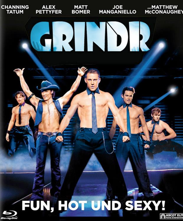 magic mike funny movie posters